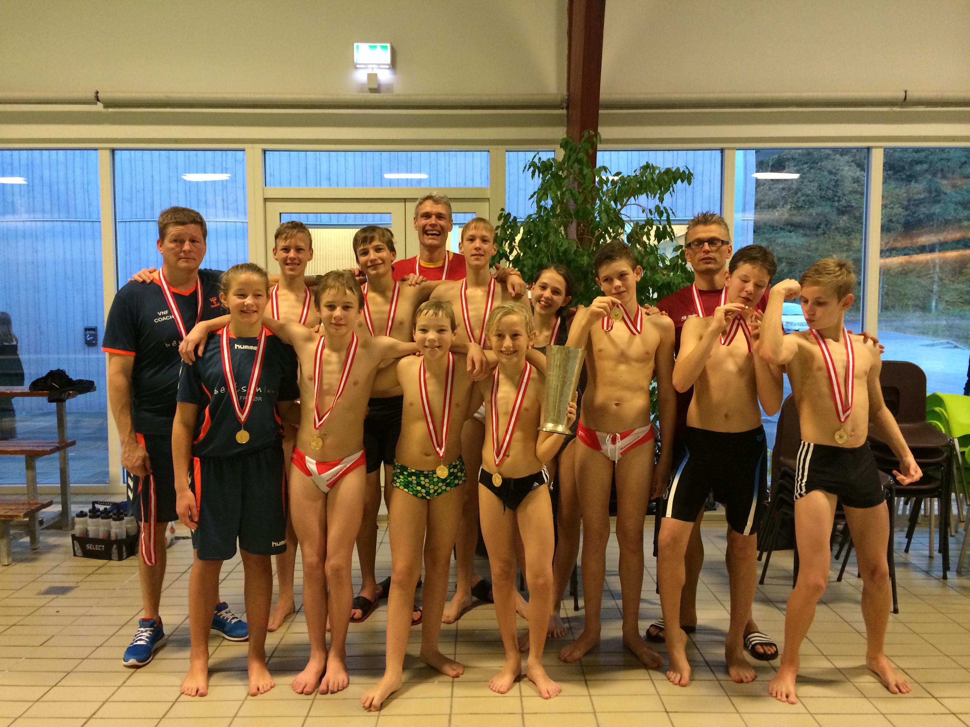 U13 vandt Guld ved DM 2014